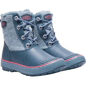 Keen Elsa Boots Youths Captains Blue/Sugar Coral